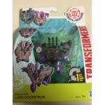 "TRANSFORMERS ACTION FIGURE 2,5"" - 5 cm MINI CON WEAPONIZER LORD DOOMITRON Robots in disguise Hasbro B6813"