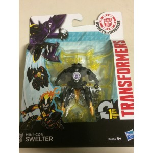 """TRANSFORMERS ACTION FIGURE 2,5"""" - 5 cm MINI CON SWELTER Robots in disguise Hasbro B4654"""