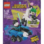 LEGO SUPER HEROES 76093 scatola danneggiata MIGHTY MICROS : NIGHTWING VS THE JOKER