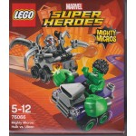 LEGO SUPER HEROES 76066 MIGHTY MICROS : HULK VS ULTRON