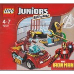LEGO JUNIORS 10721 MARVEL IRON MAN VS LOKI