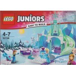LEGO JUNIORS EASY TO BUILT 10736 IL CASTELLO DI GHIACCIO DI ELSA ED ANNA