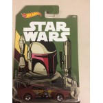 HOT WHEELS - STAR WARS CHARACTER CAR BOBA FETT / MAD MANGA single vehicle package FKD59