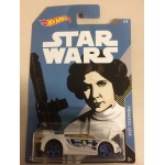 HOT WHEELS - STAR WARS CHARACTER CAR PRINCESS LEIA / QUICK N' SIK single vehicle package FKD64