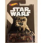 HOT WHEELS - STAR WARS CHARACTER CAR CHEWBACCA / FANDANGO single vehicle package FKD65