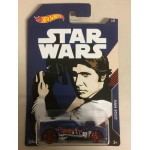 HOT WHEELS - STAR WARS CHARACTER CAR HAN SOLO / TWINDUCTION single vehicle package FKD58