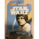 HOT WHEELS - STAR WARS CHARACTER CAR LUKE SKYWALKER / BULLY GOAT single vehicle package FKD61