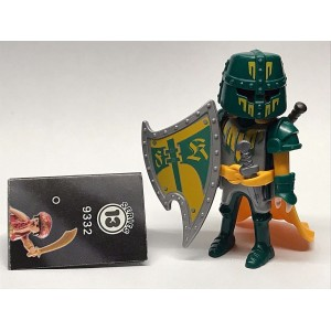 PLAYMOBIL FI?URES 9332 SERIE 13 GREEN KNIGHT