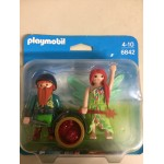 PLAYMOBIL DUO PACK 6842 ELF FAIRY AND DWARF