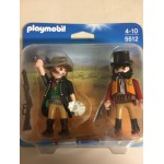PLAYMOBIL DUO PACK 5512 WESTERN BANDIT AND SHERIFF