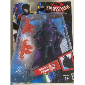 """SPIDER MAN INTO THE SPIDERVERSE ACTION FIGURE 6"""" - 15 cm MARVEL'S PROWLER Hasbro E2892"""