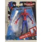 "SPIDER MAN INTO THE SPIDERVERSE ACTION FIGURE 6"" - 15 cm SPIDER MAN Hasbro E2893"