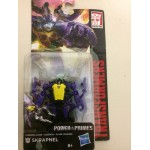 "TRANSFORMERS ACTION FIGURE 3.75"" - 9 cm POWER OF THE PRIMES SKRAPNEL Hasbro E1703"