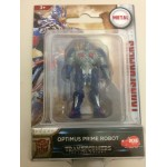 "TRANSFORMERS ACTION FIGURE 2"" - 5 cm METAL OPTIMUS PRIME ROBOT Hasbro Dickie toys"