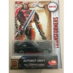 "TRANSFORMERS DIE CAST 2"" - 5 cm METAL AUTOBOT DRIFT Hasbro Dickie toys"