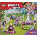 LEGO JUNIORS EASY TO BUILD 10748 FRIENDS IL PARTY DEGLI ANIMALI DI EMMA