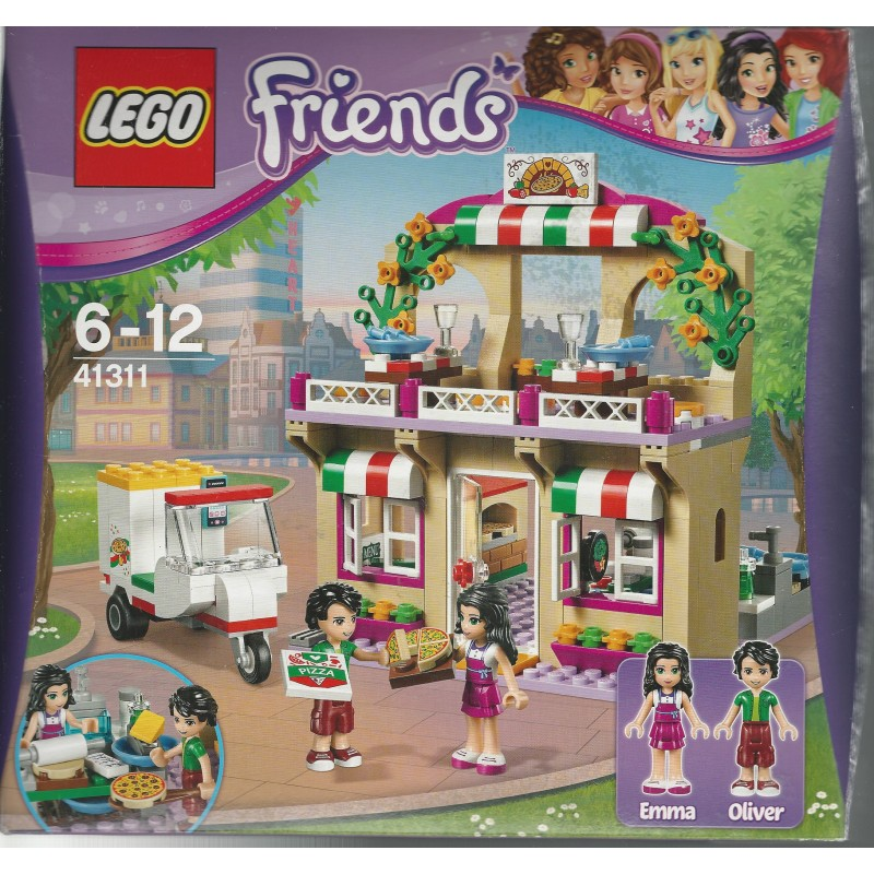 Lego Friends 41311 Heartlake Pizzeria Aquarius Age Sagl Toys