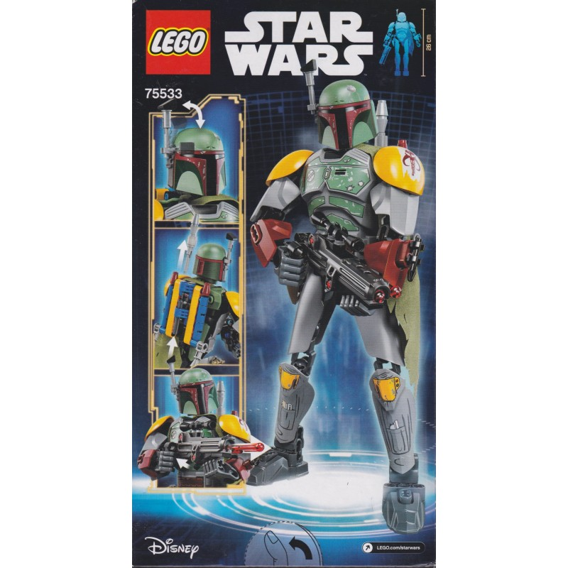 Lego Star Wars Buildable Figures Boba Fett