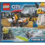 LEGO CITY 60163 STARTER SET DELLA GUARDIA COSTIERA