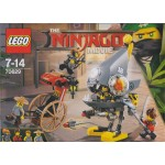 LEGO NINJAGO THE MOVIE 70629 ATTACCO DEL PIRANHA