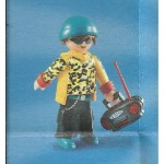 PLAYMOBIL FI?URES 5598 SERIE 9 TEENAGE WITH RADIO