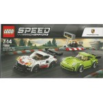 LEGO SPEED CHAMPION 75888 PORSCHE 911 RSR & PORSCHE 911 TURBO 3.0