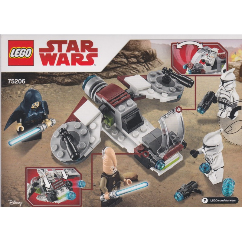 LEGO STAR WARS  75206 CLONE TROOPER.NEW