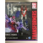 TRANSFORMERS ACTION FIGURE VOYAGER CLASS STARSCREAMER POWER OF THE PRIMES Hasbro E1137