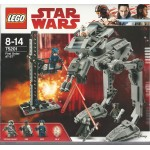 LEGO STAR WARS 75201 FIRST ORDER AT ST WALKER