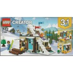LEGO CREATOR 31080 MODULAR WINTER VACATION 3 IN 1