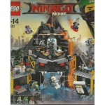 LEGO NINJAGO THE MOVIE 70631 IL COVO VULCANICO DI GARMADON