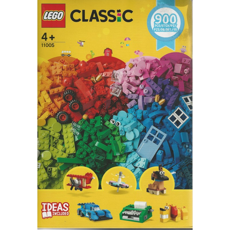 LEGO CLASSIC 11005 900 Pieces Bricks Creative and Fun Lego New /& Sealed