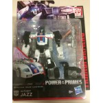 "TRANSFORMERS ACTION FIGURE 5.5 "" - 15 cm AUTOBOT JAZZ Hasbro E1125 POWER OF THE PRIMES DELUXE CLASS"