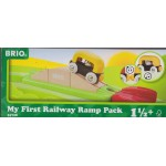 BRIO 33728 MY FIRST RAILWAY RAMP PACK WOODEN RAILWAY TRACK SYSTEM