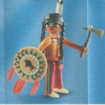 PLAYMOBIL FI?URES 5598 SERIE 9 INDIAN WARRIOR