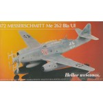 plastic model kit scale 1 : 72 HELLER HUMBOROL 80233 MESSERSCHMITT ME 262 BLA /U1 new in open box