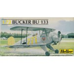 plastic model kit scale 1 : 72 HELLER 80228 BUCKER BU 133 new in open box