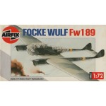plastic model kit scale 1 : 72AIRFIX 03053 FOCKE WULF FW 189 new in open box