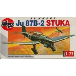 plastic model kit scale 1 : 72 AIRFIX 02049 JUNKERS JU 87 B-2 STUKA new in open box