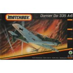 plastic model kit scale 1 : 72 MATCHBOX 40135 DORNIER DO 335 A-6 new in open box