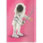 PLAYMOBIL FI?URES 5599 SERIE 9 FENCER WOMAN
