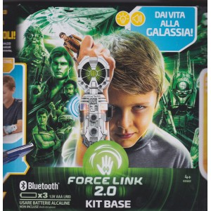 "STAR WARS FORCE LINK STARTER SET WITH HAN SOLO ACTION FIGURE 3.75 "" - 9 cm hasbro E 0322"