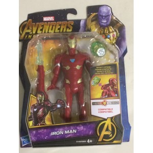 "MARVEL AVENGERS INFINITY WAR ACTION FIGURE 6"" - 15 cm IRON MAN Hasbro E 1406"