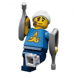 LEGO MINIFIGURES 71011 04 CLUMSY GUY SERIE 15