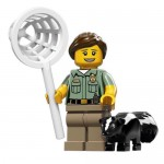 LEGO MINIFIGURES 71011 08 ANIMAL CONTROL OFFICER SERIE 15