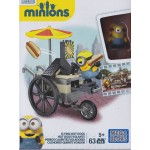 MEGA BLOKS DESPICABLE ME / MINIONS CNF 51 FLYING HOT DOGS