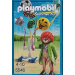 PLAYMOBIL SUMMER FUN 5546 CLOWN WITH BALLOONS