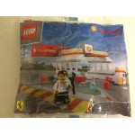 LEGO SHELL V POWER COLLECTION 40194 FERRARI FINISH LINE & PODIUM