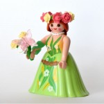 PLAYMOBIL FI?URES 9444 SERIE 14 01 BUTTERFLY LADY