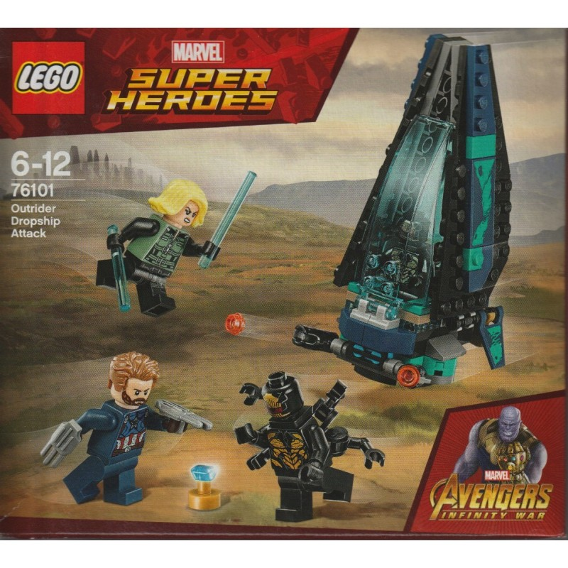 LEGO Marvel Super Heroes 76101 Outrider Dropship Attack New Sealed
